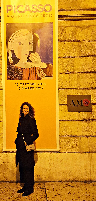 Art in Verona, Italy, Picasso